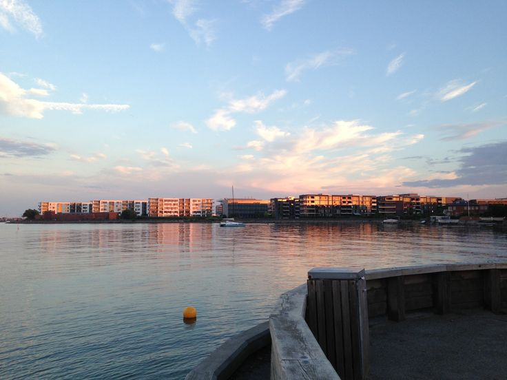 Hellerup havn.