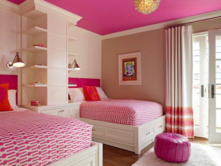 Habitación niña de dos camas