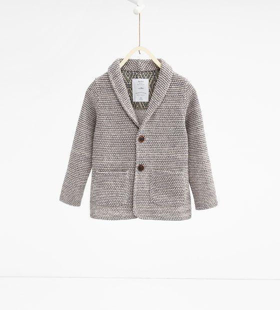 Image 1 of Blazer with lapel from Zara