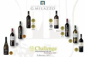 Nell'edizione 2017 del Concorso Internazionale Challenge du Vin - Bordeaux (Francia), giunto alla trentunesima edizione, la #CantinaMilazzo si è aggiudicata 11 #medaglie: 7 oro, 2 argento e 2 bronzo.
