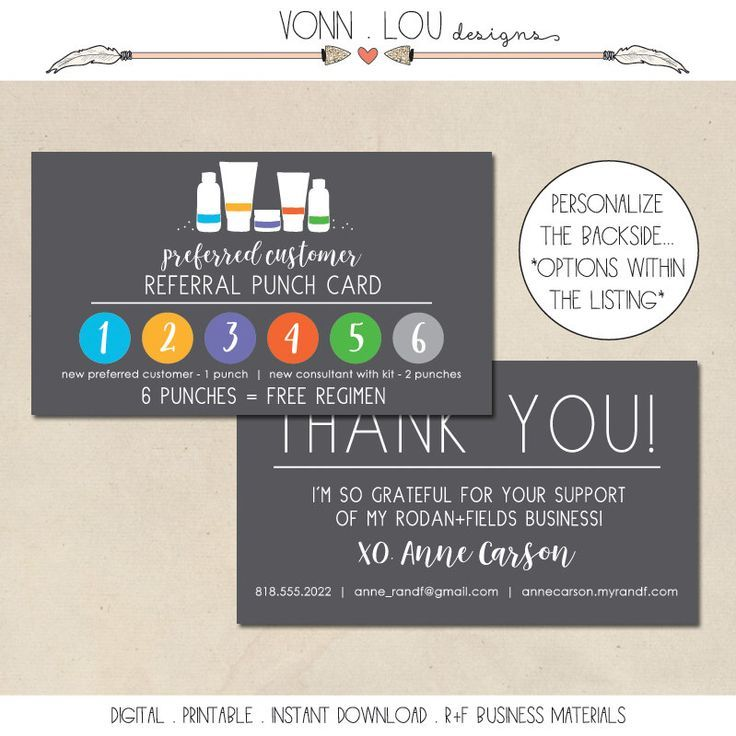DIY your photo charms, 100% compatible with Pandora bracelets. Make your gifts special. Make your life special! printable - rodan and fields preferred customer card - PC referral cards - hand illustrated - personalized contact - randf business - DIY by VonnLouDESIGNS on Etsy https://www.etsy.com/listing/483337677/printable-rodan-and-fields-preferred