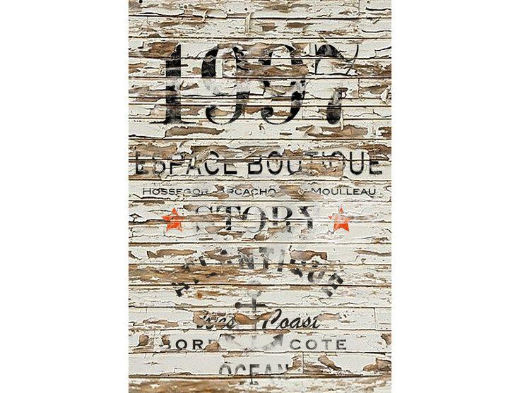 1997 BORD COTE ®  OCEAN ATLANTIQUE / collection 2016 sweatshirt vintage  /cap ferret / hossegor / le moulleau