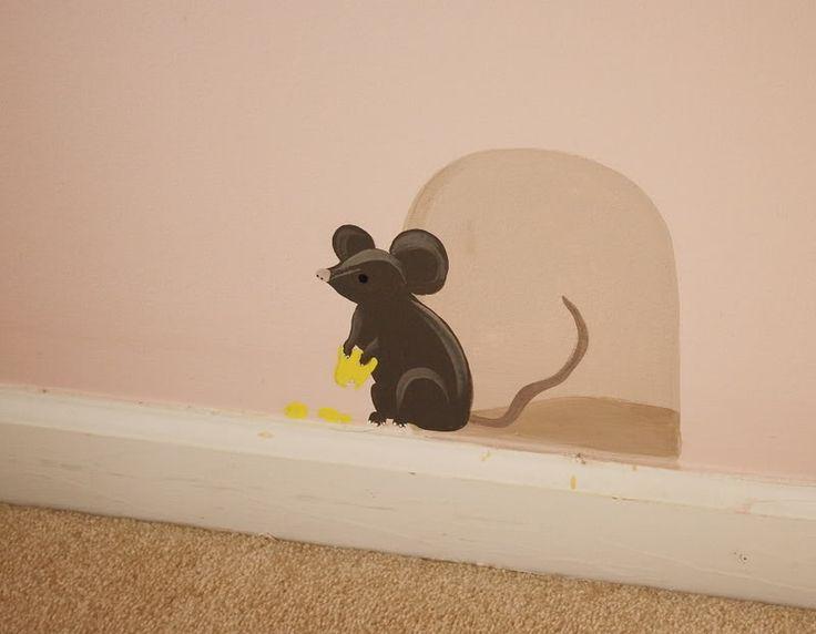 cute little mouse detail ;)                                                     …