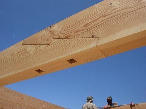 Деревянные конструкции – 39 фотографий
