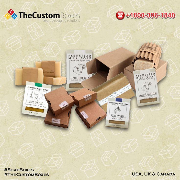 Custom Soap Packaging Boxes on Behance