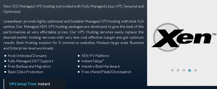 #Leasedlayer provide highly optimized and Scalable #Managed #VPShosting with best SLA uptime. Our Managed #XENVPS #hosting packages are developed to give the best of the performances at very affordable prices. Our VPS Hosting services easily replace the shared/reseller hosting services with very less cost effective margin and get optimum results. Best Hosting solution for E-commerce websites, Medium-large scale Business and Enterprise-level workloads. https://www.leasedlayer.com/managed-vps
