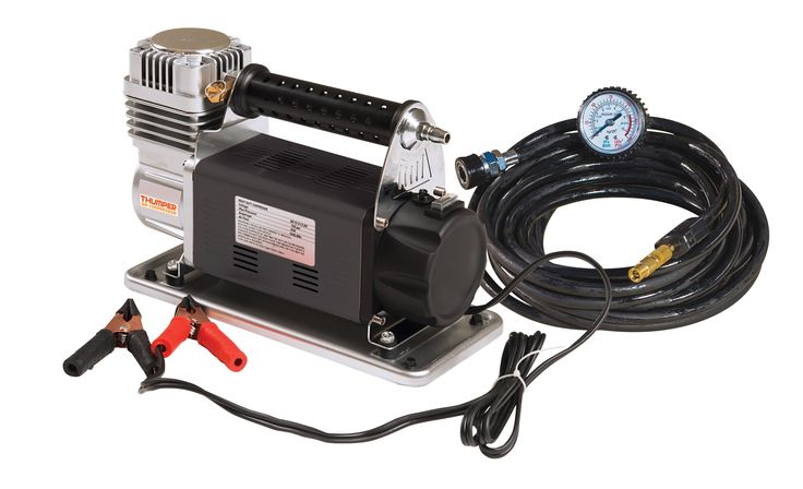 Thumper Air Compressor - Heavy Duty 12V , 4WD & Outdoor Products - Australia