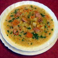 Frankfurti leves pirított virslivel Recept képpel -   Mindmegette.hu - Receptek