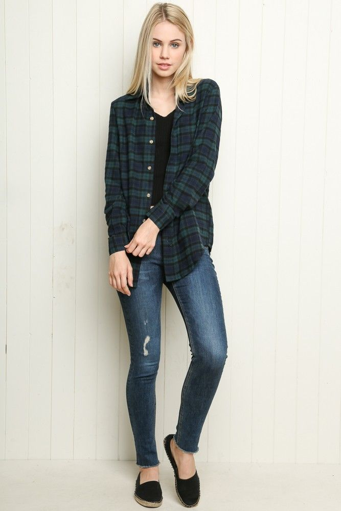 Brandy ♥ Melville | Wylie Flannel - Clothing