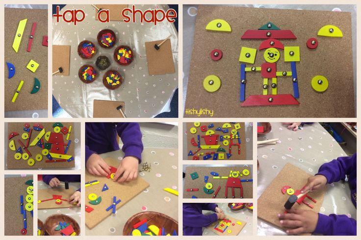 Tap a shape. So popular, the children love it.