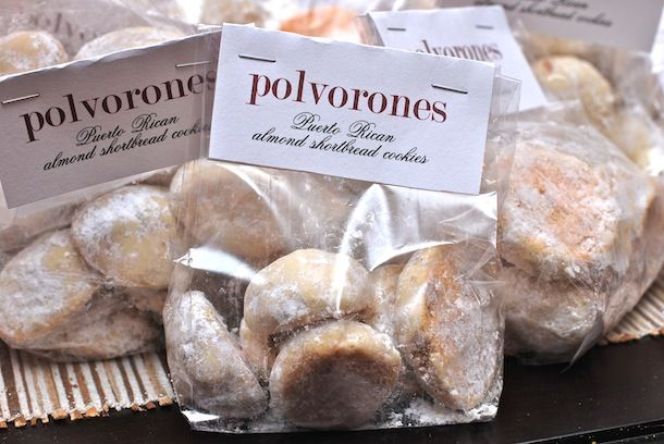"Always Order Dessert: PuertoRican almond shortbread cookies.. ""Polvorones""...yumm. Sounds great and i love the cup of ground almonds in it. Yes!"