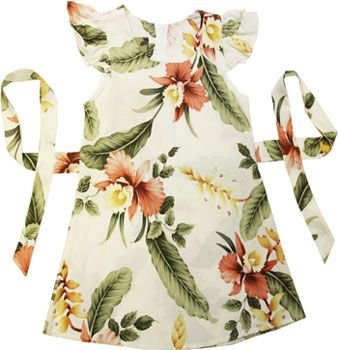 Check out the deal on Orchid Pu'a - Girls Hawaiian Sundress at Shaka Time Hawaii Clothing Store