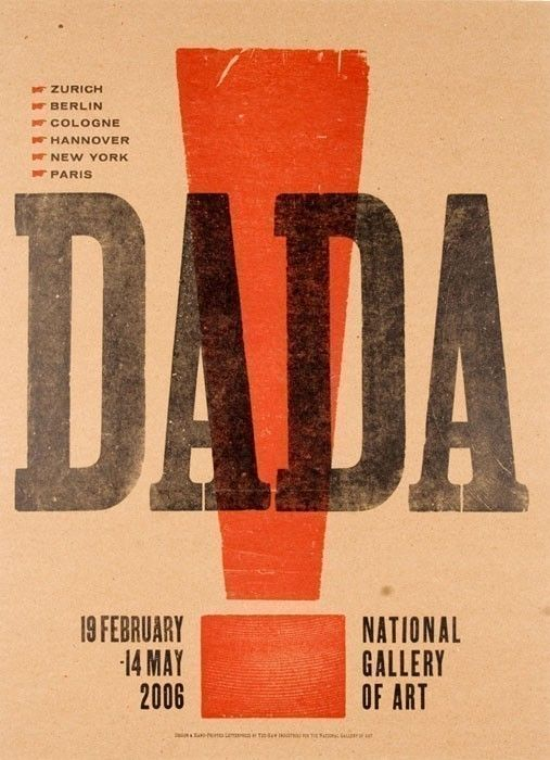 an analysis of the dada movement in art history Tate glossary definition for dada: art movement formed during the first world war  in zurich in negative reaction to the horrors and folly of the war often satirical.