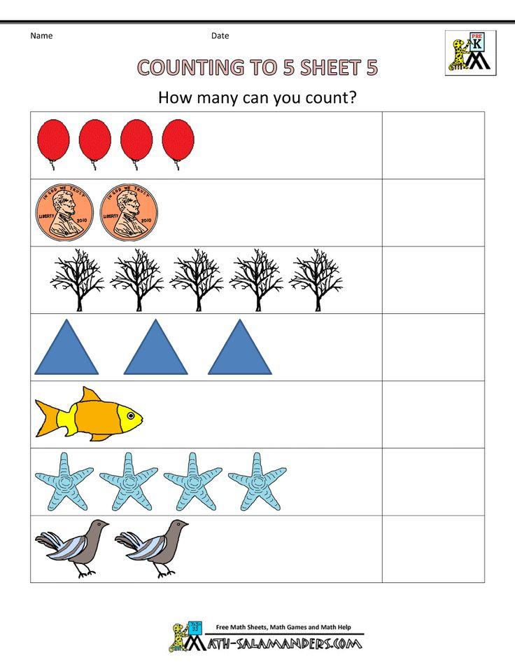 math worksheet : 72 best pre k worksheets images on pinterest  maths pre school  : Toddler Math Worksheets