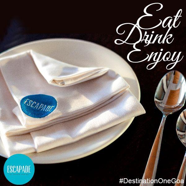 Eat, Drink and Enjoy at #DestinationOneGoa