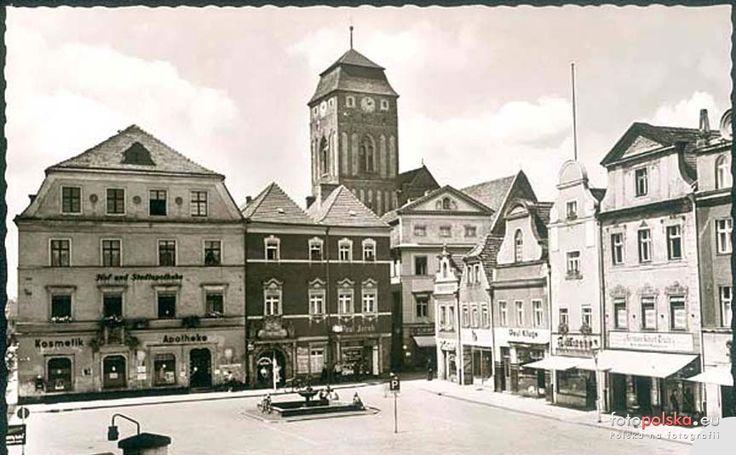 Kościół Wniebowzięcia Najświętszej Maryi Panny (Katholische Kirche, Klosterhof), Żagań - 1935 rok, stare zdjęcia