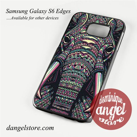 elephant head aztec Phone Case for Samsung Galaxy S3/S4/S5/S6/S6 Edge Only $10.99