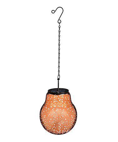 Another great find on #zulily! Rose Gold Starburst Stargazing Solar-Powered Lantern #zulilyfinds