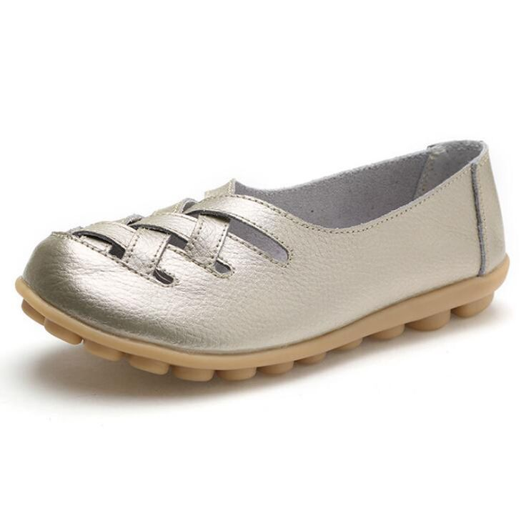 Ballet Flats Ballerina Shoes for Women On Sale, Silver, Leather, 2017, 7.5 8.5 Marc Jacobs