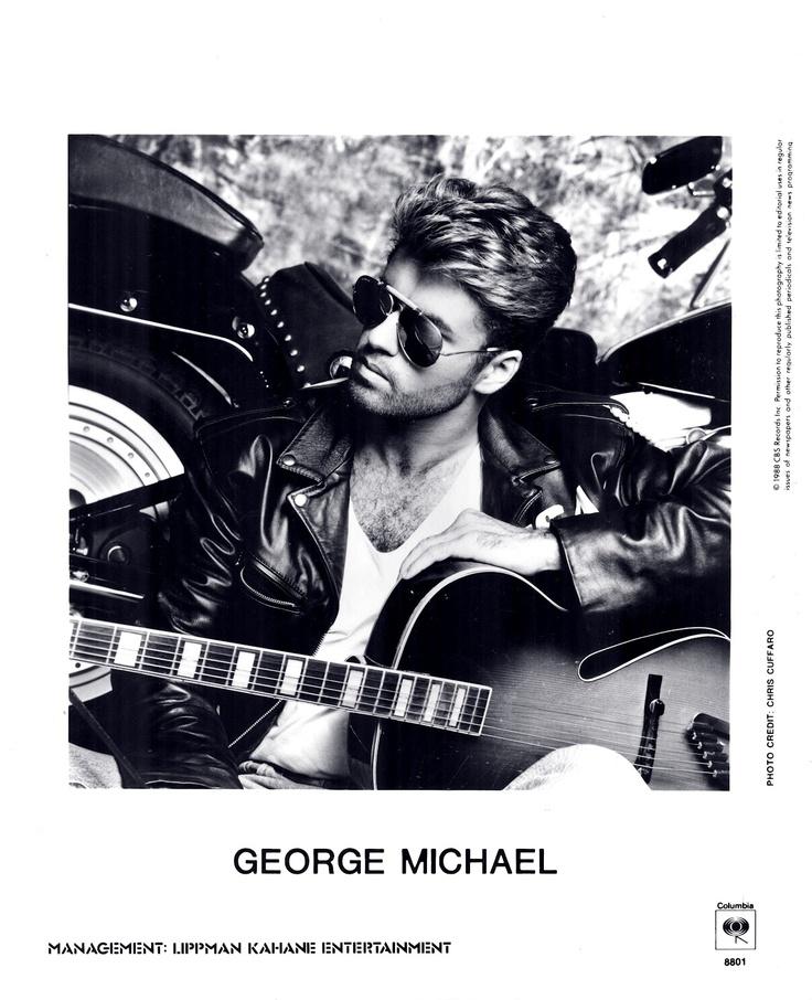 George michael music pinterest