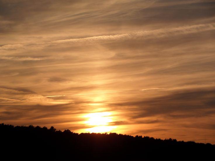Zachodzące słońca