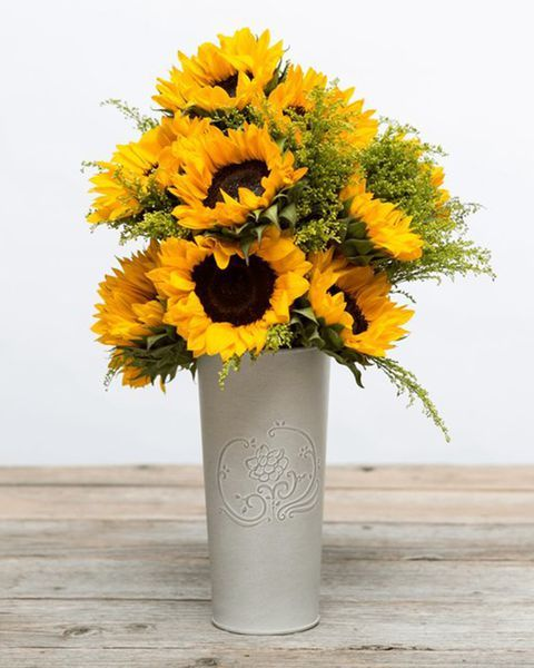 These sunflowers are all we need to get us to spring.