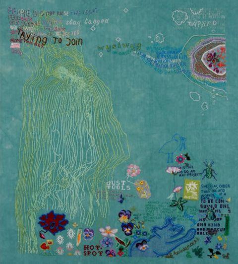 Tilleke Schwarz embroidery