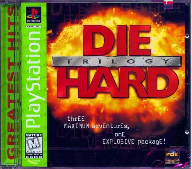 Die Hard Trilogy - PS1