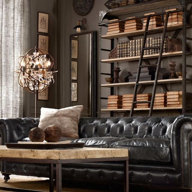 Restoration Hardware- bookshelf