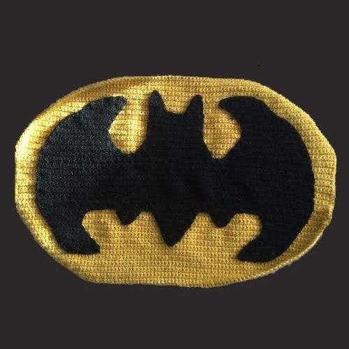 How to Crochet the Batman Symbol