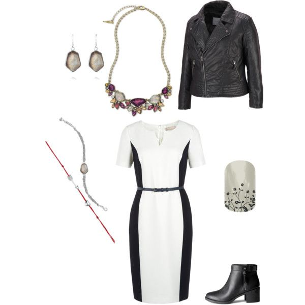 Lauren's #WearItWednesday outfit for her debut at #LTYM: with a collar necklace. #chloeandisabel #flourishjn