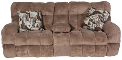 Catnapper Siesta Power Reclining Loveseat with Console   – Products