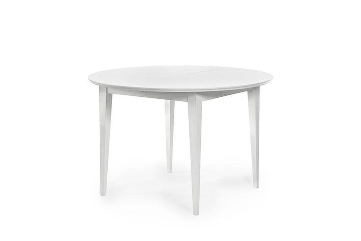 Biały okrągły stół Rondo