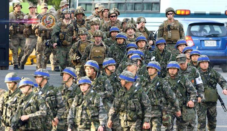 Coréia do Norte promete parar exercícios militares conjuntos da Coréia do Sul e EUA