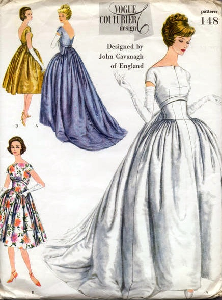 Dorable Vintage Wedding Dress Patterns Uk Picture Collection - Dress ...