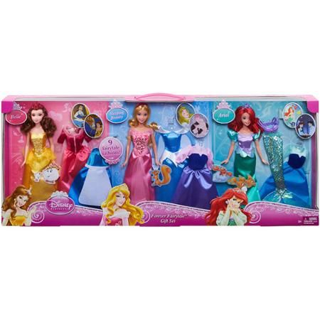 "Disney Princess Rags To Riches 12-piece 12"" Doll and Dress Set Only At Walmart ($19.97 orig. $40) (F)"