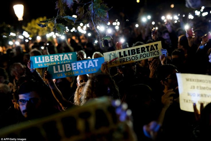 The far-left anti-capitalist CUP party called for protests against the High Court judge's ...