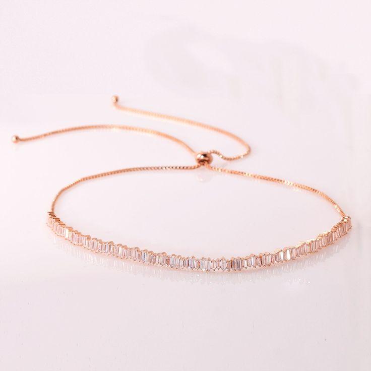 Baguette Choker Necklace (Ships May 19th)  #austintx #jewelry #atx #bohochic #arialattner