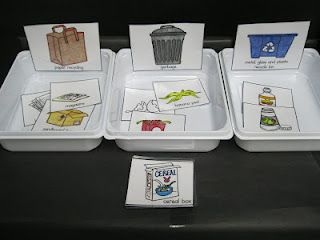 sorting activity as kids get older! Get them on right track for chores ;)