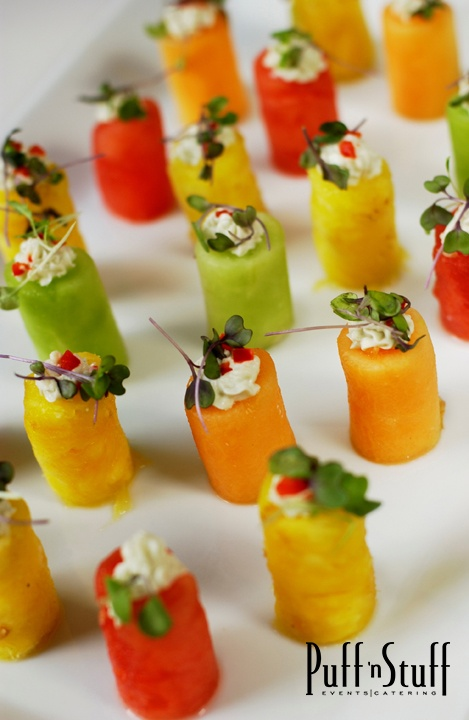 Fruit Towers | Puff 'n Stuff Catering