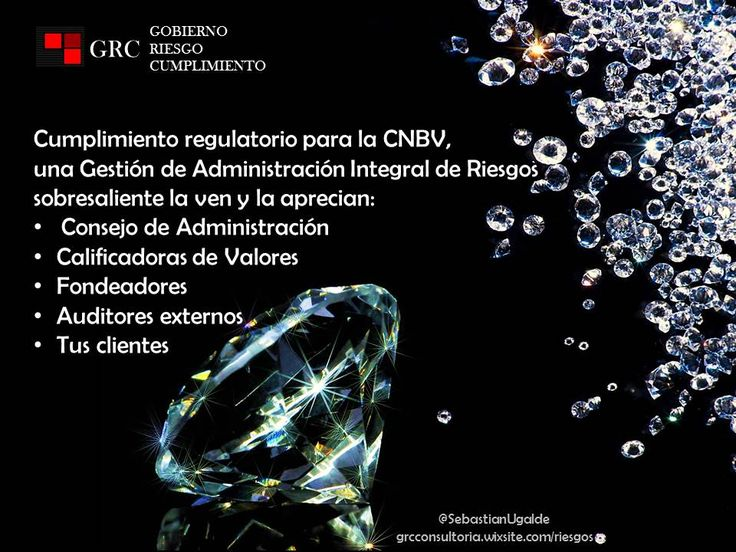 GRC te apoya con consultoría en Administración  de Riesgos, cumplimiento regulatorio y Gobierno Corporativo.