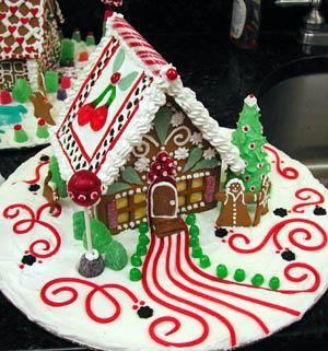 118 Best Gingerbread Garden Images On Pinterest Christmas