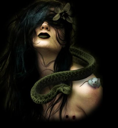 The Morrígan is a goddess of battle, strife, and sovereignty. She sometimes appears in the form of a crow, flying above the warriors, and in the Ulster cycle she also takes the form of an eel, a wolf and a cow.