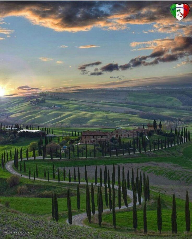 Crete Senise, Toscana, Itália