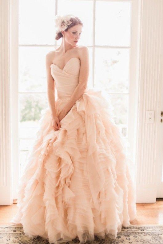abito da sposa rosa Sophie Sareh Nouri Spring 2013