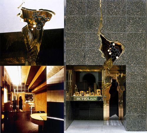 Architect Hans Hollein, Schullin jewelry, 1972-74, Vienna.