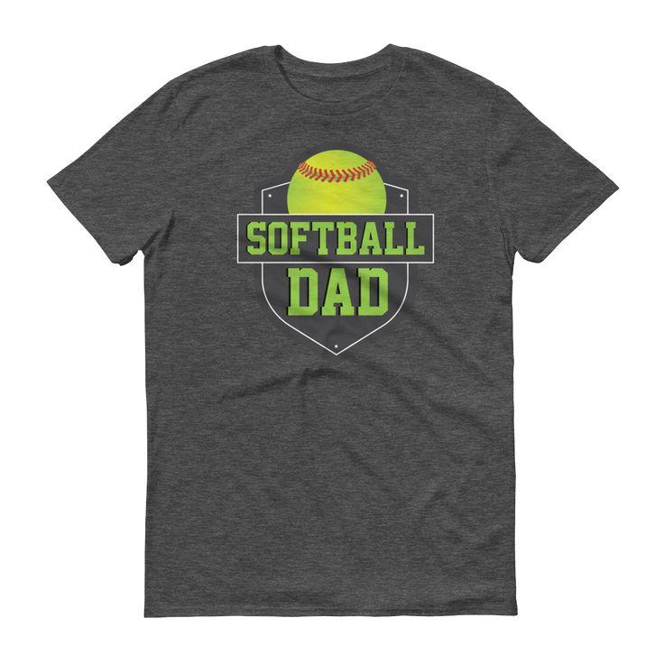 Men's Softball Dad T-Shirt