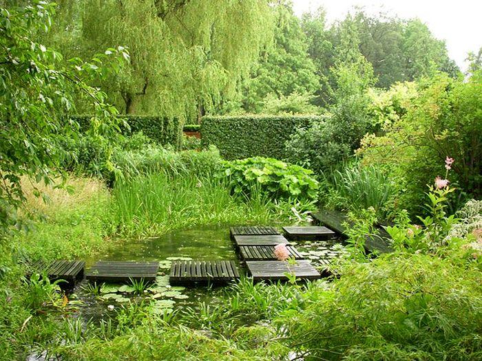 The Gardens of Mien Ruys in Dedemsvaart, the Netherlands.