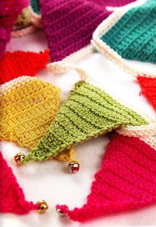 Crochet Garland - Guirnalda Crochet