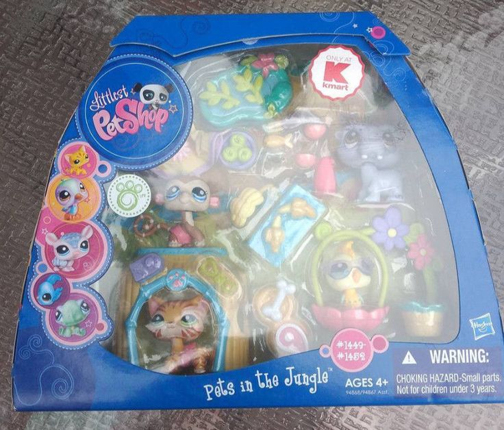 Littlest Pet Shop 150925: Littlest Pet Shop Kmart Exclusive Pets In The Jungle #1449 #1450 #1451 #1452 -> BUY IT NOW ONLY: $120 on eBay!